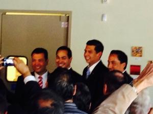 Alex Padilla, Julian Castro, David Alvarez, Todd Gloria