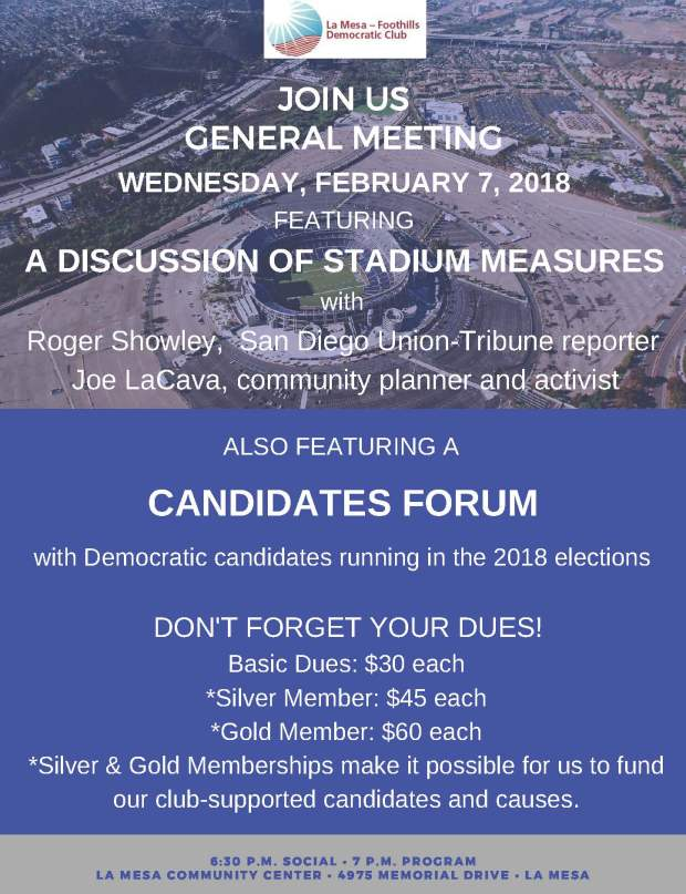 LMFDC General Meeting Flyer- February 2018